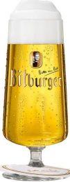 Bitburger Voetglas 12x30cl