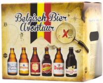Belgisch Bier Avontuur Geschenkverpakking 6x33cl
