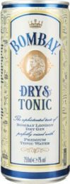 Bombay Dry gin & Tonic Blik