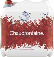 Chaudfontaine roos Bruisend mineraalwater 6x1,5L