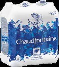 Chaudfontaine blauw mineraalwater voordeelpakken 6x1,5L