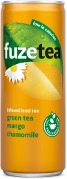 Fuze Tea Green Tea Mango Chamomile blik 250 ml