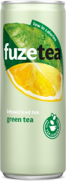 Fuze tea Green tea blik 250 ml