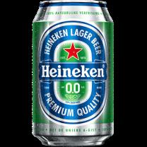 Heineken 0.0 alcoholvrij bier blikjes