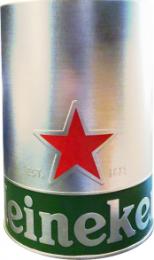 Heineken afschuim houder RVS
