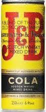 J&B Whisky cola Mix blik 250ml