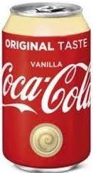 Coca Cola Vanilla tray 24x33cl