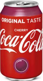 Original NL Coca Cola Cherry Coke 33cl